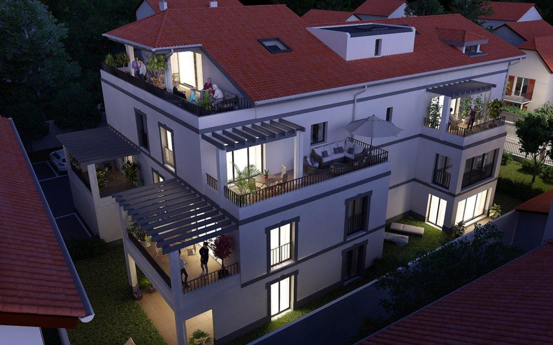 Appartement 4 pièces à Biarritz