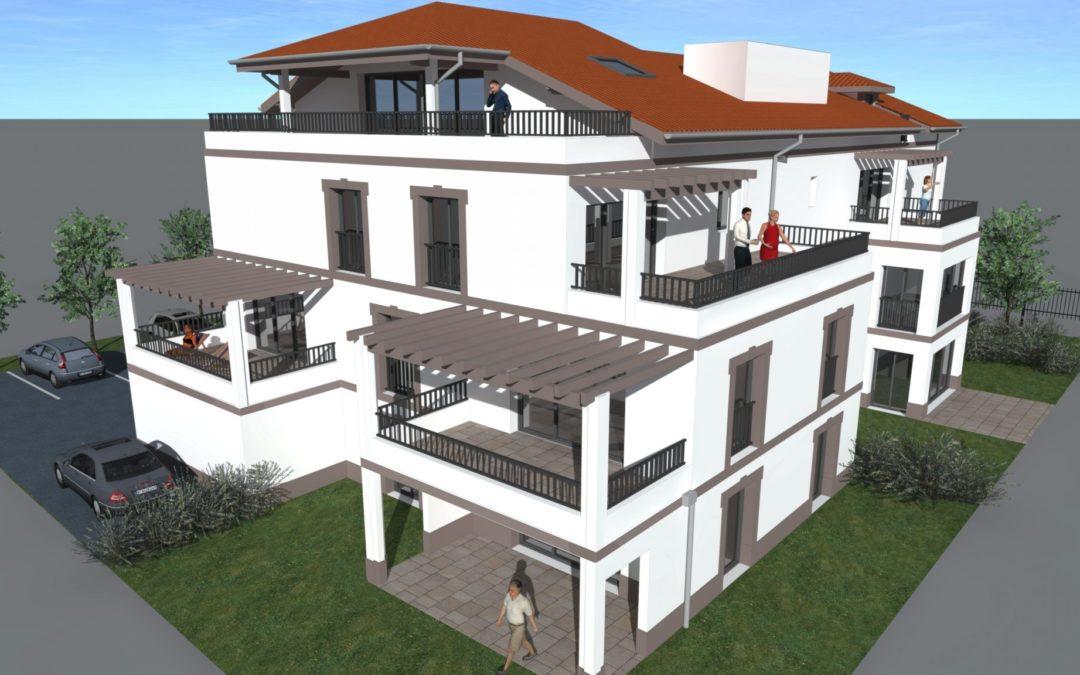 Appartement 3 pièces à Biarritz