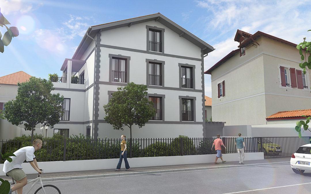 La Villa Anetska à Biarritz