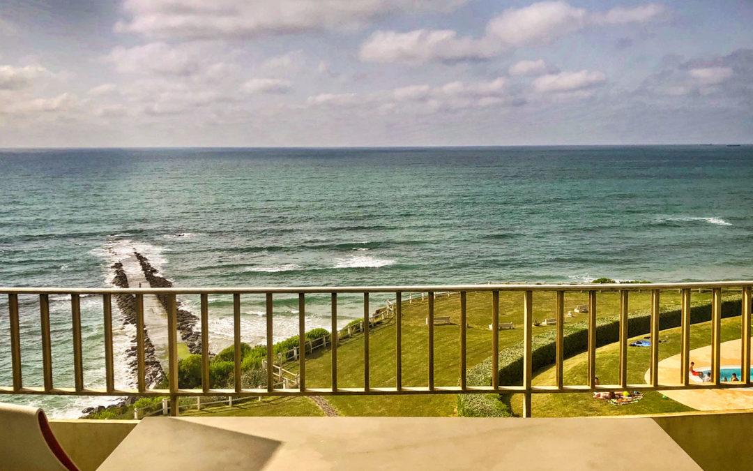 Appartement à Biarritz vue mer