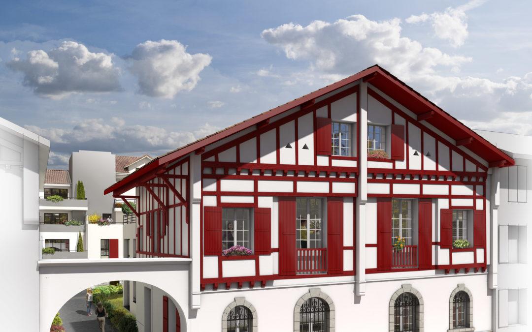Bayonne: résidence Itxia Saint Esprit